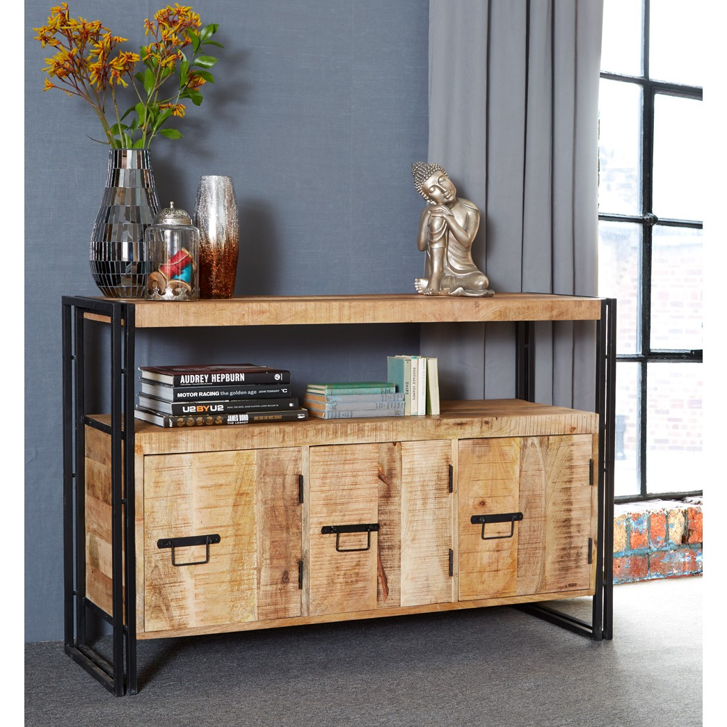 Cosmo Industrial Sideboard with 3 Doors : id15 lifestyle1 from www.indianhub.co.uk size 1045 x 1045 jpeg 277kB