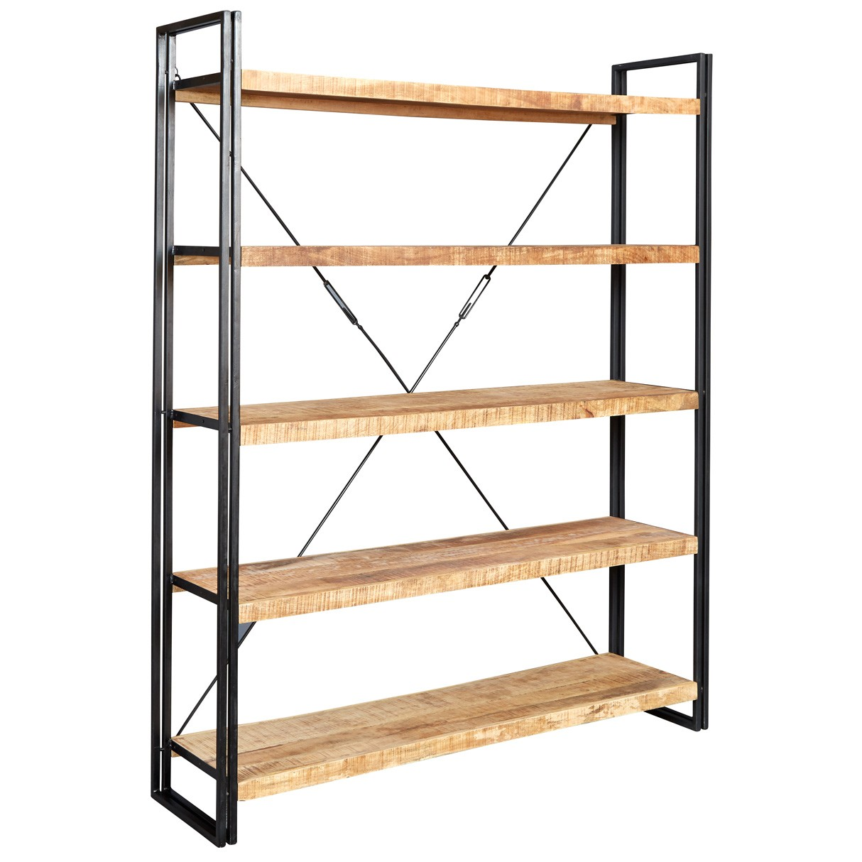Cosmo Industrial Large Open Bookcase : id241 from www.indianhub.co.uk size 1214 x 1214 jpeg 154kB