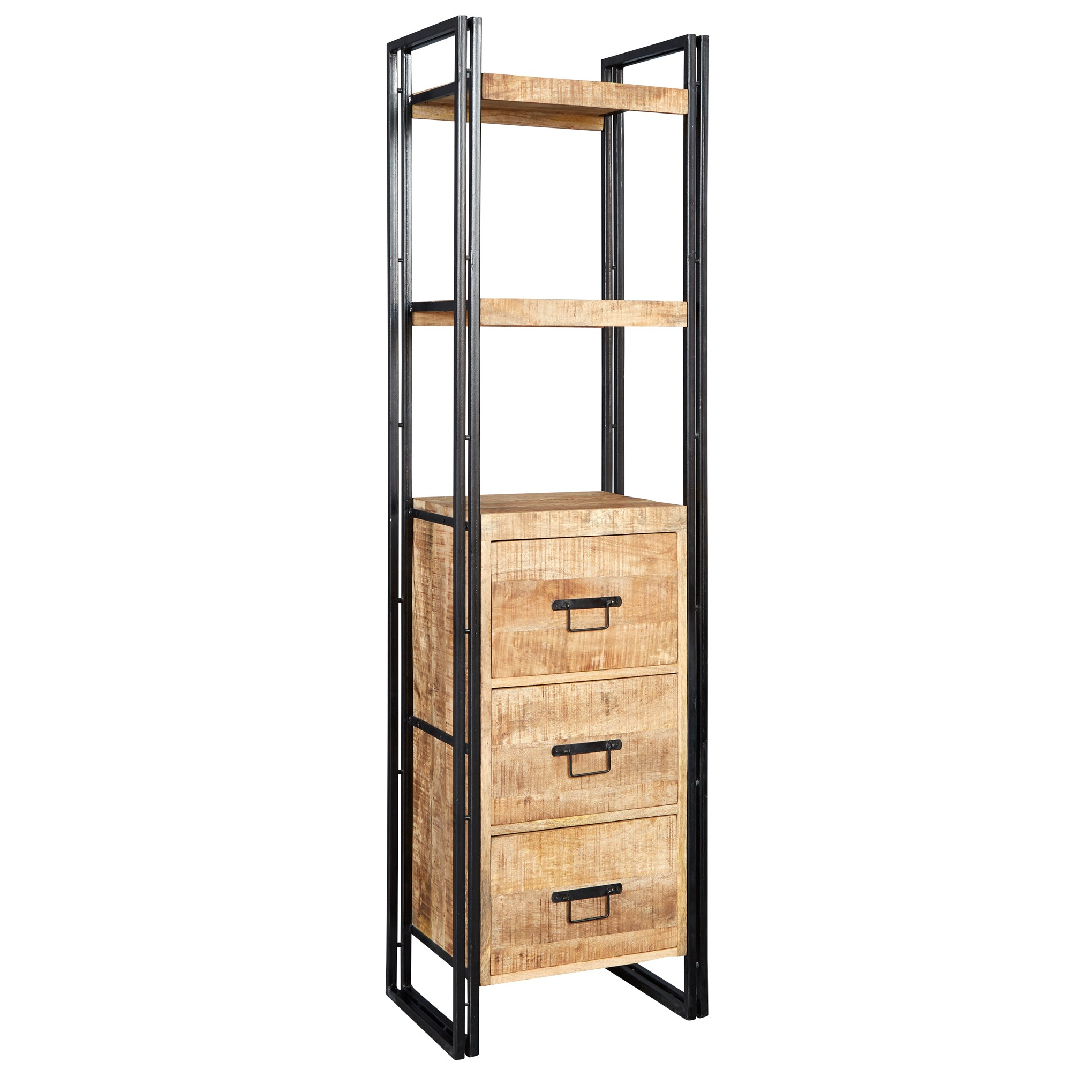 Cosmo Industrial Slim Bookcase : id161 from www.indianhub.co.uk size 2039 x 2039 jpeg 332kB