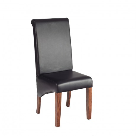 Cube Leather Dining Chair