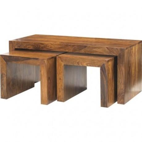 Cube John Long Coffee Table Set