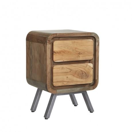 Aspen 2 Drawer Lamp Table