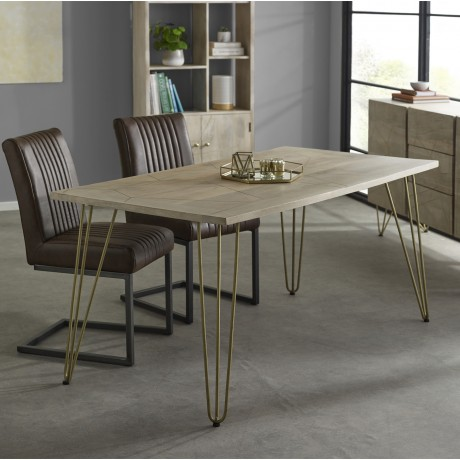 Light Gold Dining Table