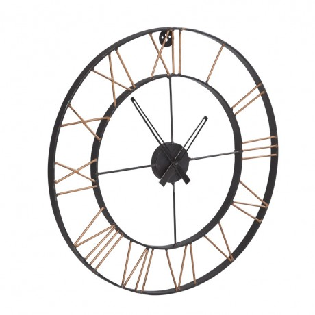 Lincoln Metal Clock Large
