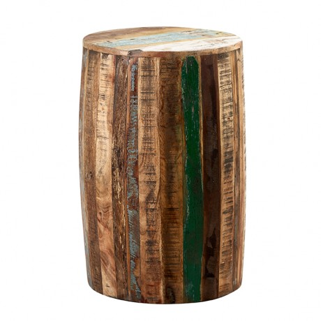 Coastal Drum Stool