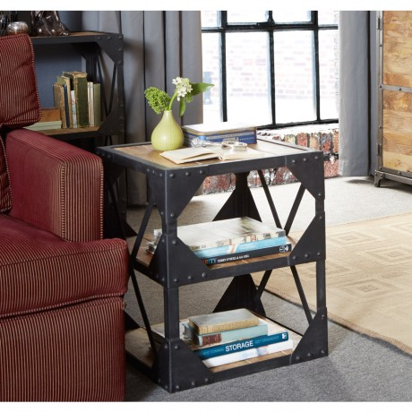 Ascot Side Table/Multimedia Cabinet