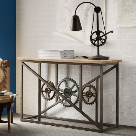 Evoke Console Table with Wheels