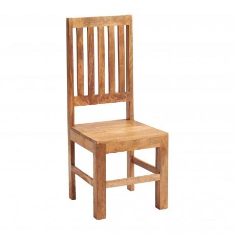 Toko Light Mango Slat Back Chair