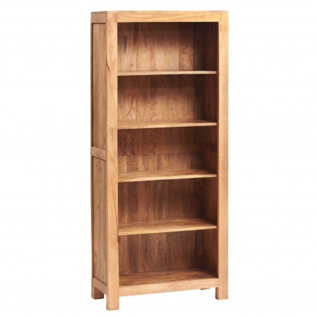 Toko Light Mango Large Open Bookcase