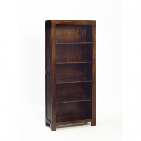 Toko Dark Mango Large Open Bookcase