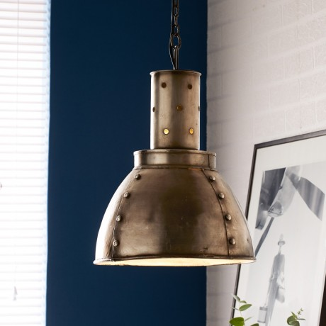 Metallic Hanging Lamp 2