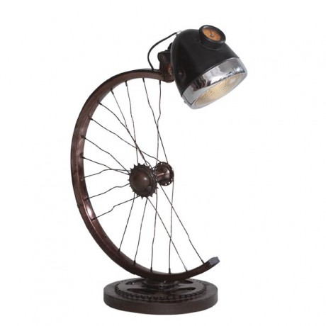 Half Cycle Wheel Lamp