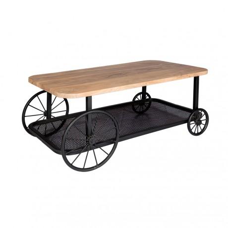Craft Wheel Coffee Table