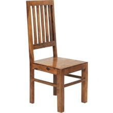 Cube High Slat back Chair