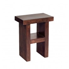 Toko Dark Mango H Shaped Table/Stool