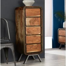 Aspen 5 Drawer Tall Chest