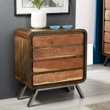 Aspen Iron/Wooden - Greeno 4 Drawer Chest