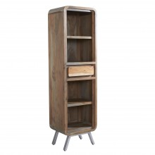 Aspen Narrow Bookcase