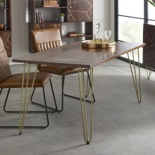 Dark Gold Dining Table