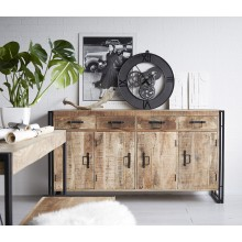Cosmo Industrial Extra Large Sideboard