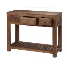 Manhattan Mango light Console Table