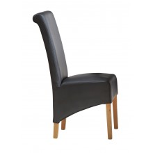 Leather Dining Chair matching our Toko Light Range
