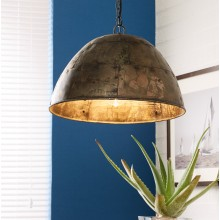 Metallic Hanging Lamp 1