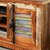 Coastal Reclaimed Wood TV Media Unit