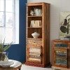 Coastal Narrow Bookcase