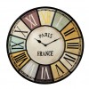 Clock CHALET Industrial Style Metal