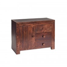 Toko Dark Mango 3 Drawer Sideboard