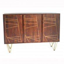 Dark Gold Large Sideboard