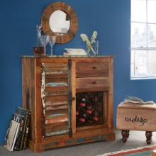 Coastal Wine Rack Sideboard
