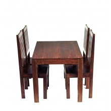 Toko Dark Mango Small Dining Table 4ft (120cm)