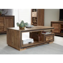 Jodhpur Sheesham Coffee Table with Drawer