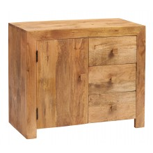 Toko Light Mango 3 Drawer Sideboard