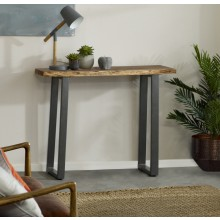 Baltic Live Edge Console Table