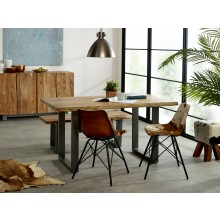 Baltic Live Edge Dining Table 1.5 M