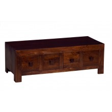 Toko Dark Mango 8 Drawer Coffee Table