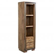 Jodhpur Sheesham Slim Bookcase