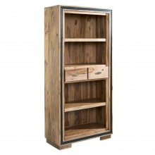 Jodhpur Sheesham Large Wide Bookcase
